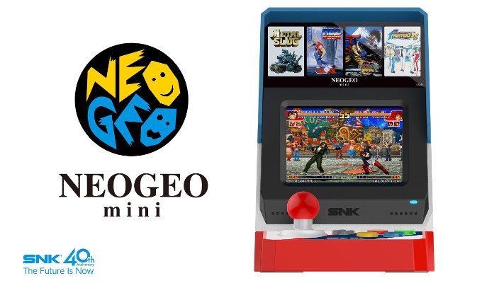 NEO GEO Mini ya tiene precio y fecha para Japón