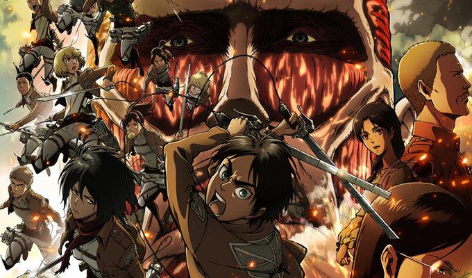 ¡Disfruta de Attack on Titan en la pantalla grande!