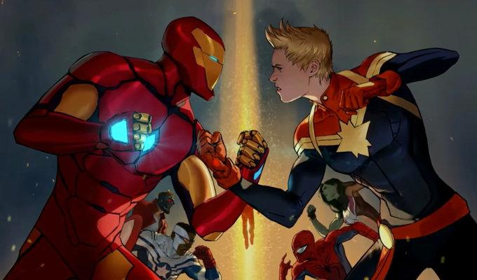 Avengers 4: Fanart imagina a Iron Man y Captain Marvel