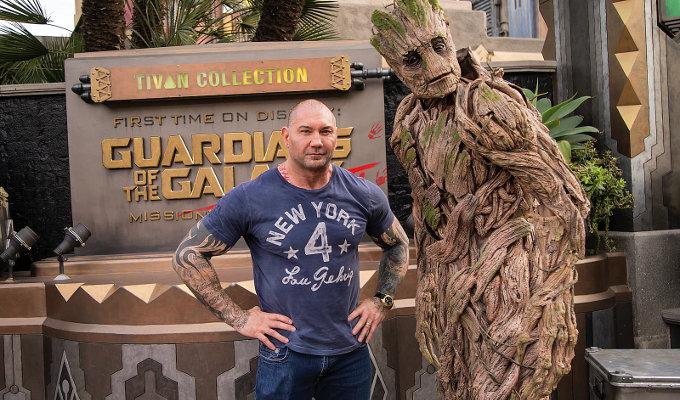 Dave Bautista quería estar las películas de Star Wars