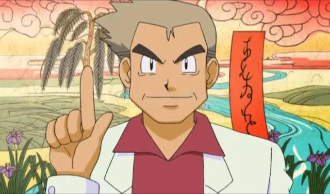 Adiós a la voz del Profesor Oak de Pokémon, Unsho Ishizuka