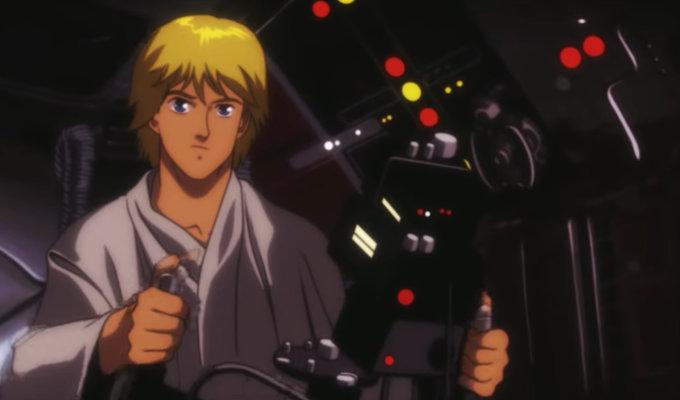 Si Star Wars fuera un anime, así se vería
