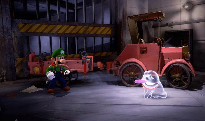 Luigi's Mansion 3 anunciado para Nintendo Switch