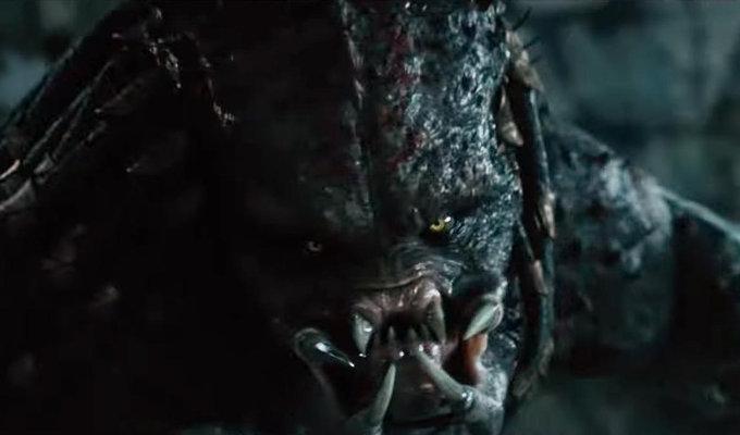 The Predator y su sangriento comercial