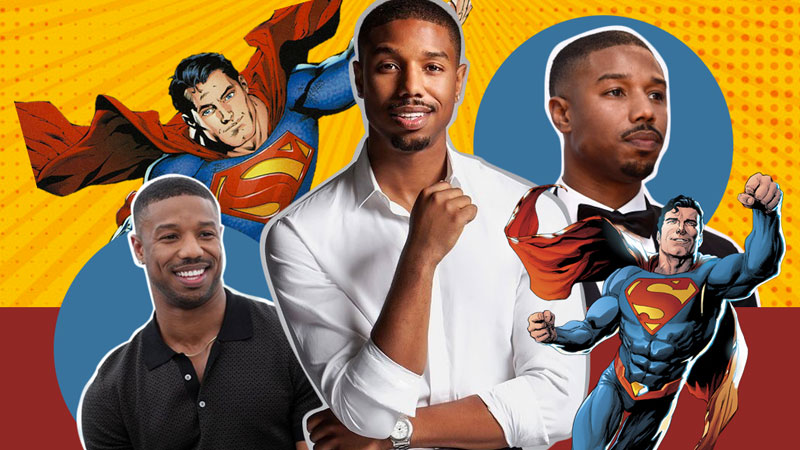 Michael B. Jordan imaginado como Superman