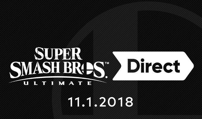 El jueves habrá nuevo Nintendo Direct de Smash Bros.