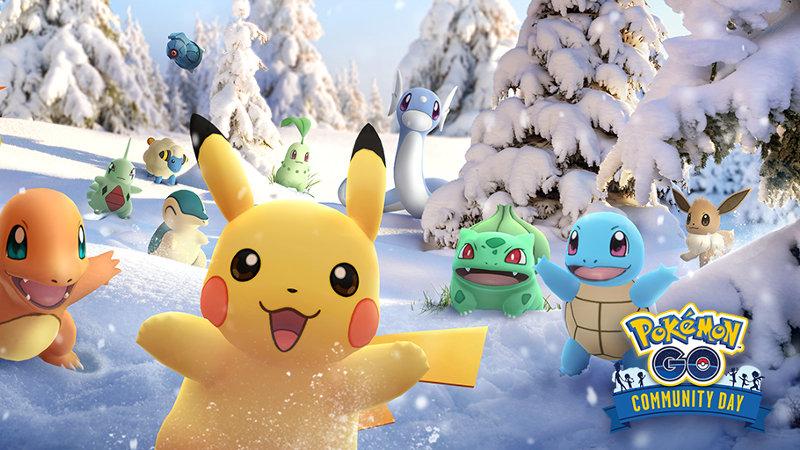 Celebra un año de Días de la Comunidad de Pokémon GO