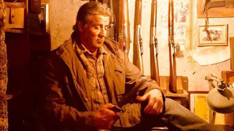 Primera foto oficial de Sylvester Stallone en Rambo V: Last Blood