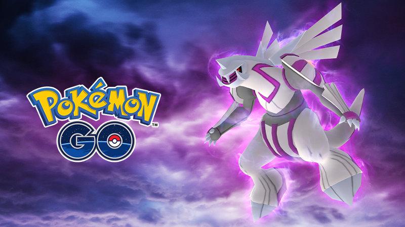 El Pokémon Legendario Palkia llega a Pokémon GO