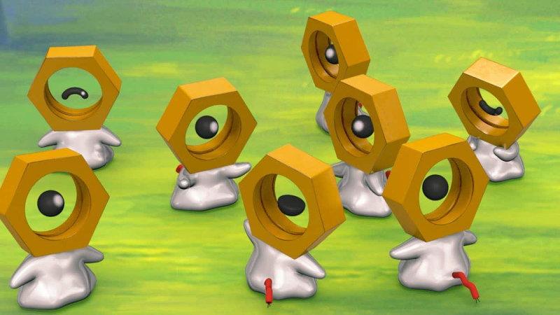 El pokémon Meltan tendrá su propio peluche