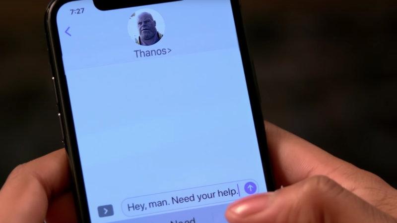 Cuando Killmonger le pide ayuda a Thanos