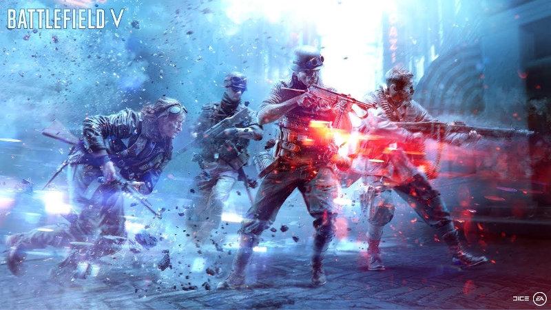 EA culpa a Battlefield V de su descenso de ingresos