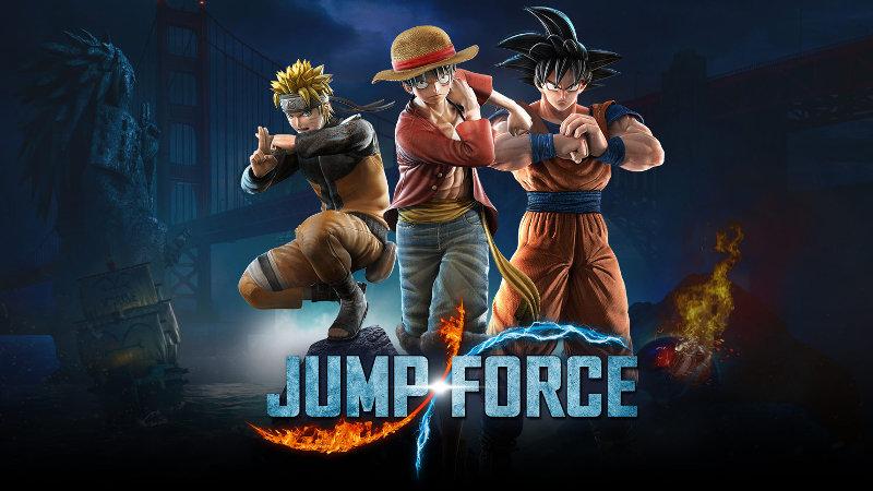 ¿Qué personajes vienen en Jump Force?