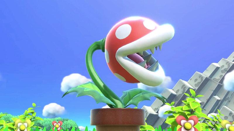 Nintendo no puede replicar el error de Piranha Plant en Super Smash Bros. Ultimate