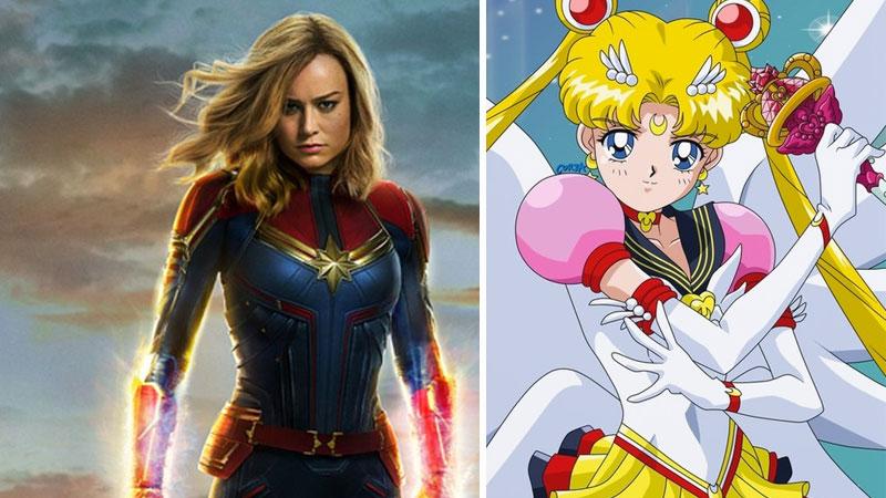 Capitana Marvel Sailor Moon