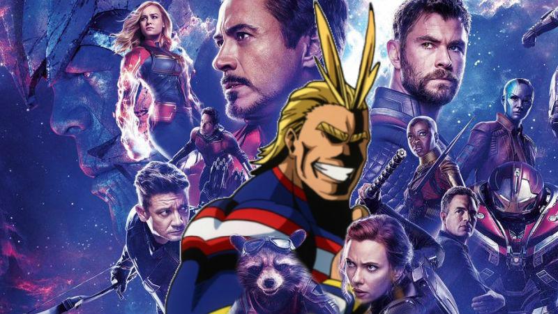 Avengers-My-Hero-Academia
