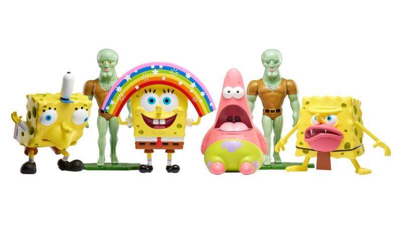 Lanzan juguetes de los memes de Bob Esponja, pero tienen un gran problema