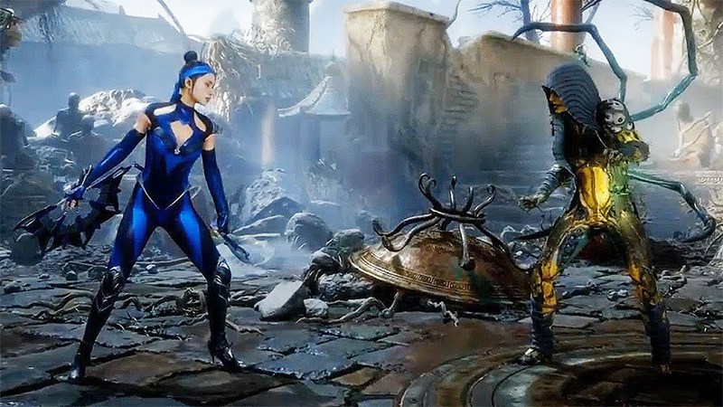 Kitana y D'Vorah se unen a Mortal Kombat 11
