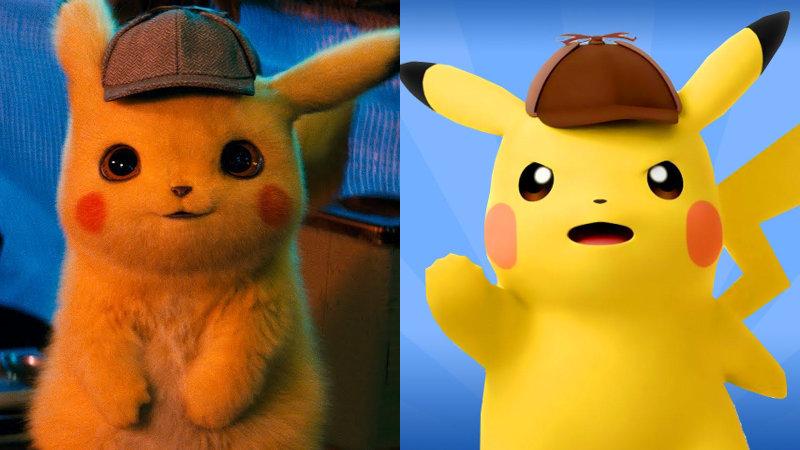 Pokémon: Detective Pikachu – Película vs. Videojuego