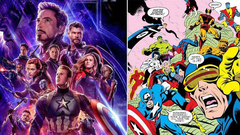 De Avengers a Secret Wars