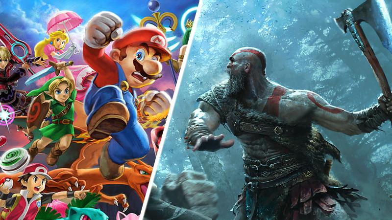 Juego del año Smash Bros.