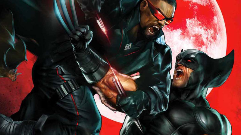 Wolverine se enfrenta a Blade en un nuevo cómic