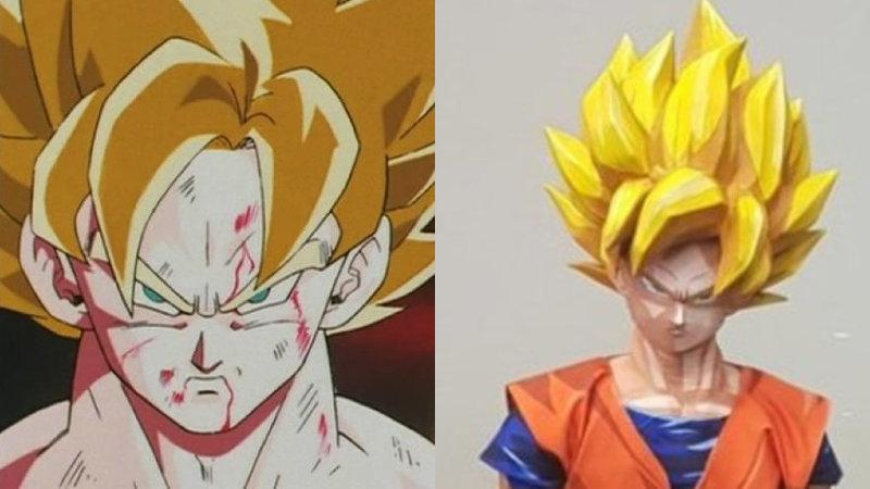 Cosplay de Goku de Dragon Ball