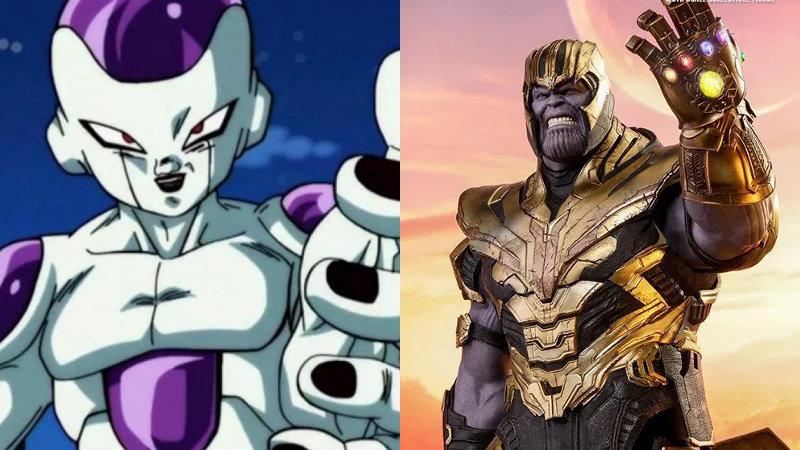 Dragon Ball X Avengers: Esta fusión de Freezer con Thanos es invencible