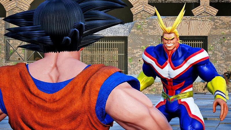 All Might de My Hero Academia y Goku de Dragon Ball se conocieron y fue muy cómico