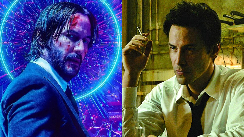 Quítate John Wick, Keanu Reeves quiere volver a ser Constantine