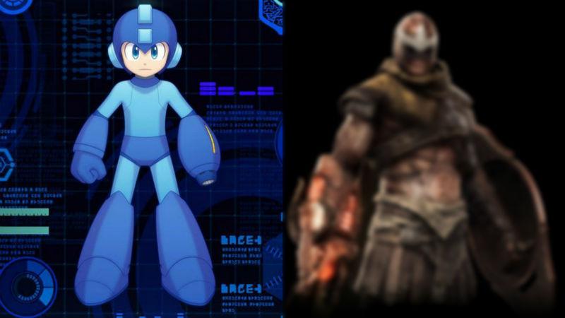 Mega Man en el mundo de God of War