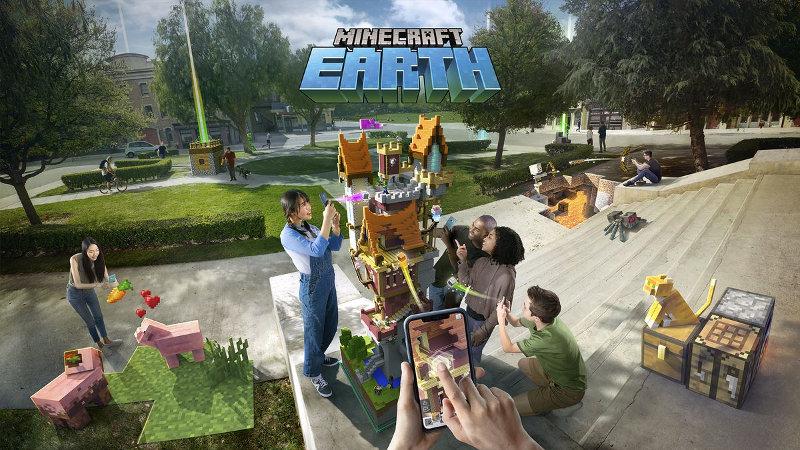 ¡Adiós, Pokémon Go! Minecraft Earth quiere ser la próxima sensación AR