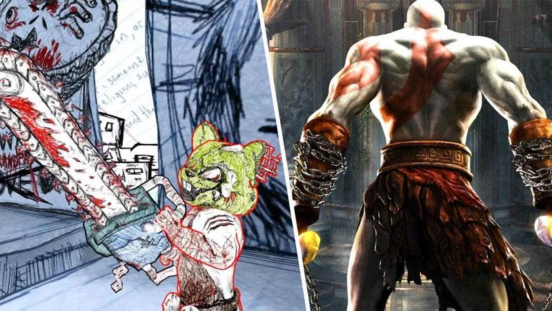 God of War y Drawn of Death de David Jaffe
