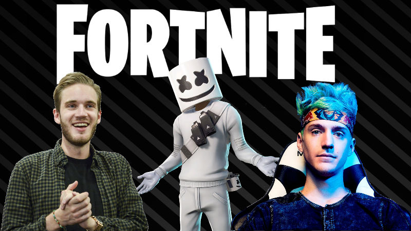 Fortnite tendrá un stream de PewDiePie y Ninja