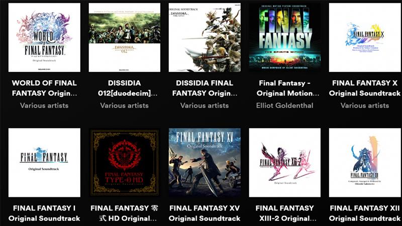 Final Fantasy en Spotify.