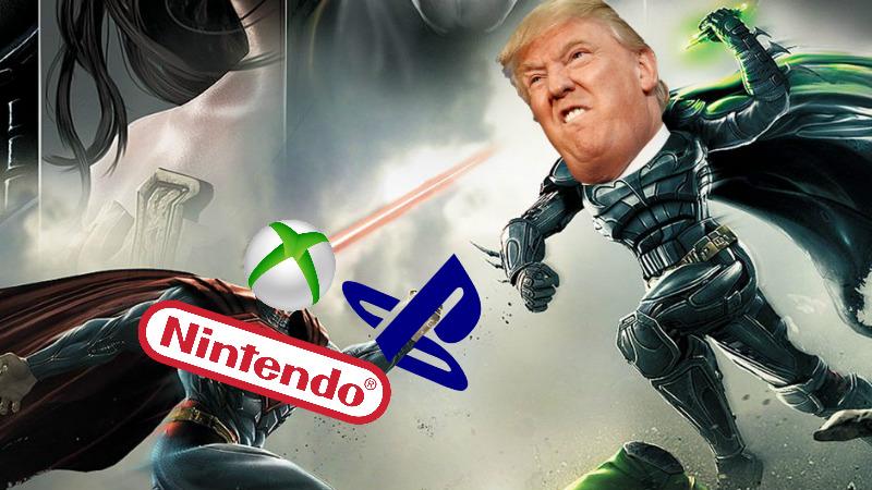 PlayStation, Nintendo y Xbox se unen para que Trump no suba aranceles