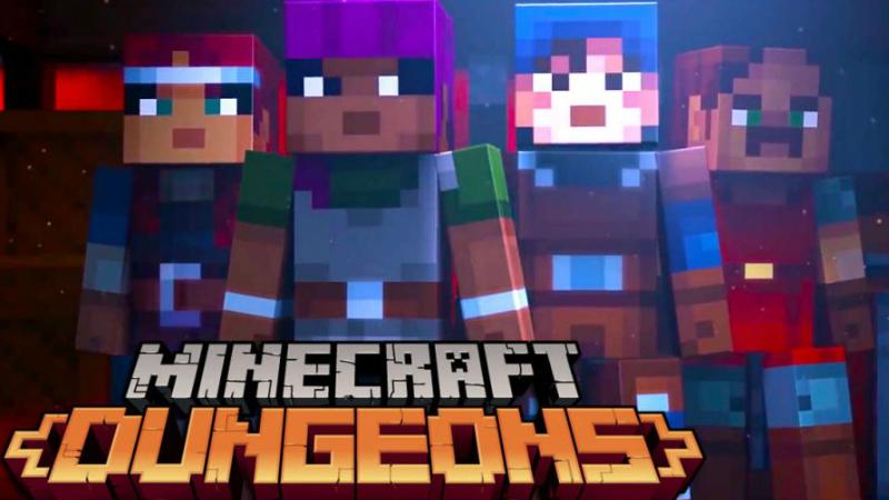 Minecraft dungeons llegará en 2020