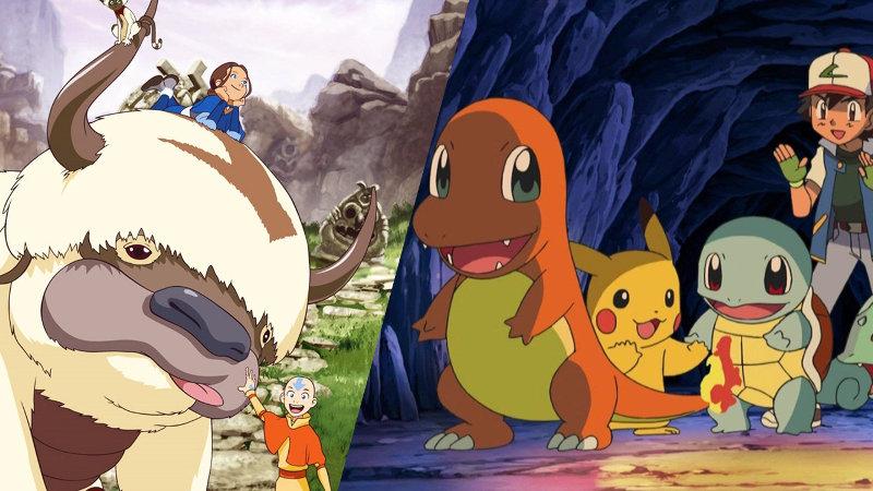 Cuando Pokémon toma nota de Avatar: La Leyenda de Aang