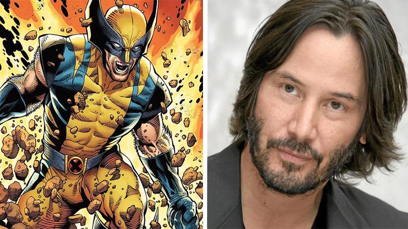 Así se vería Keanu Reeves cómo Wolverine