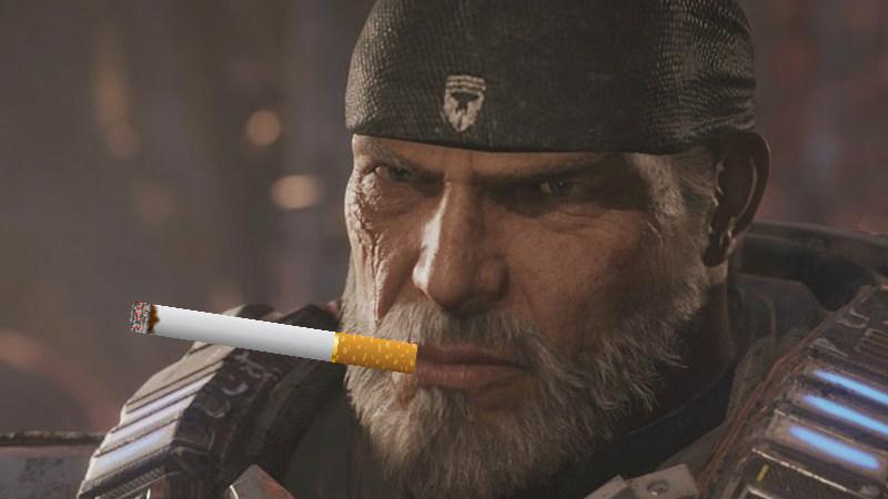 Gears of War tabaco