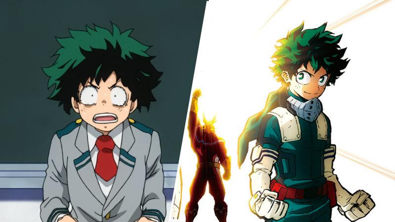 Nine My hero Academia