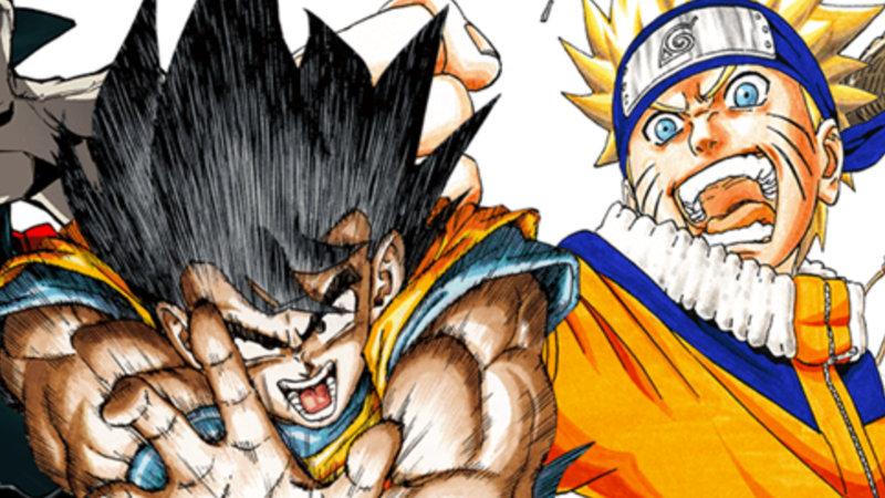 Recordamos cuando creador de Dragon Ball dibujó a Naruto