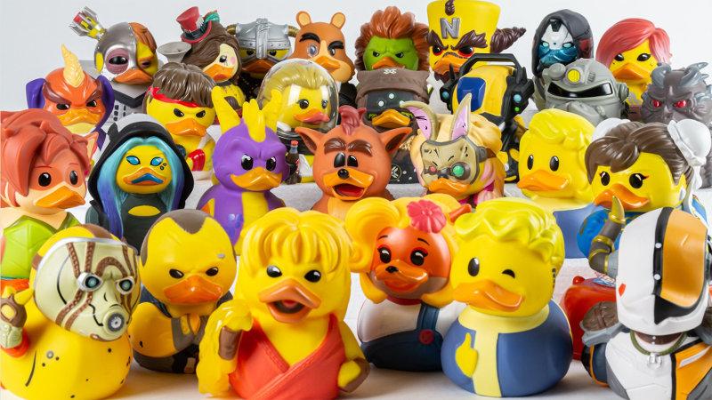 TUBBZ: Cosplaying Ducks - ¿Quieres patos de Street Fighter o Batman?