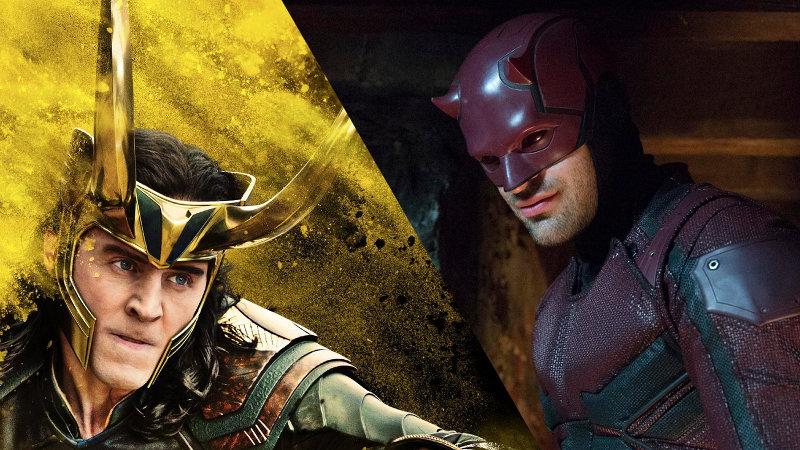 Cuando Loki y Daredevil cambian de lugar en Halloween