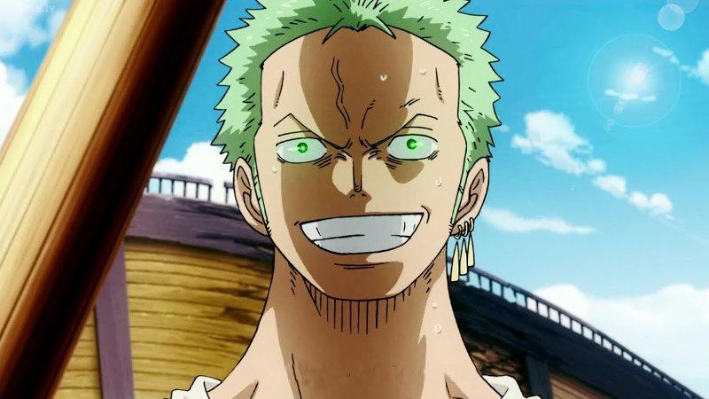 Así podría verse Zoro de One Piece en una película en 3D