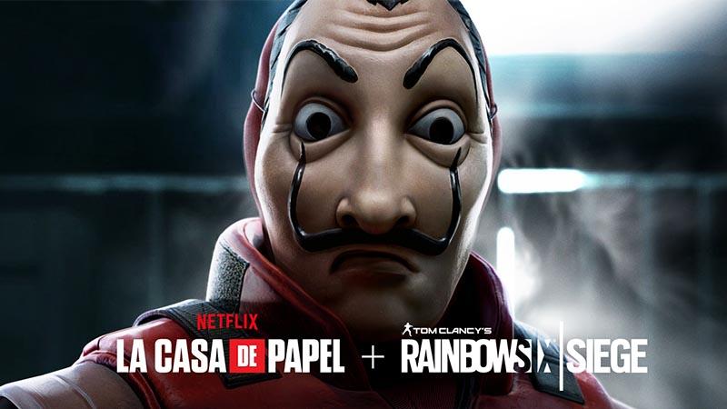Rainbow Six Siege hace crossover con La Casa de Papel