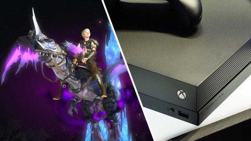 Final Fantasy XIV en Xbox One X