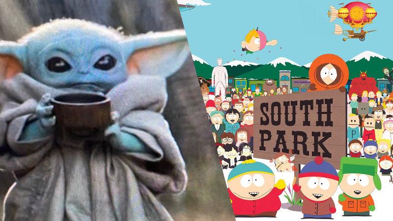 Baby Yoda ahora está en South Park