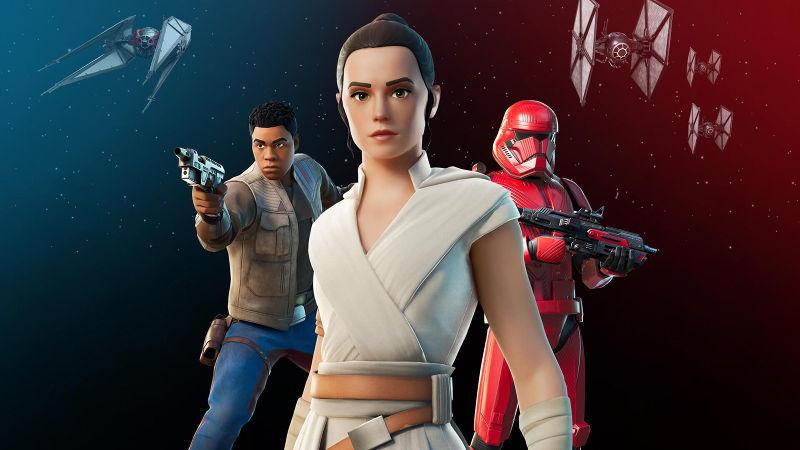 Mira como cumplir los desafíos y logros de Star Wars de Fortnite