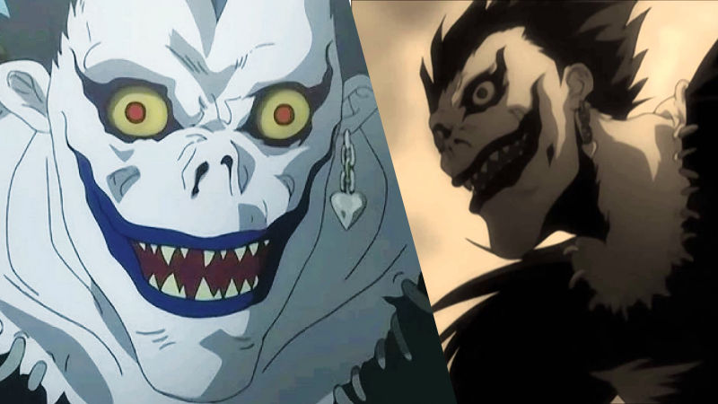 Espántate con esta aterrador cosplay de Ryuk de Death Note